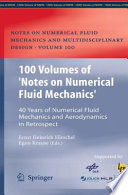 100 Volumes Of Notes On Numerical Fluid Mechanics  Book PDF