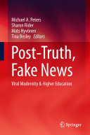 Pdf Post-Truth, Fake News Telecharger