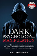 DARK PSYCHOLOGY and MANIPULATION image