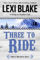 Three to Ride Pdf
