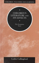 Children S Literature And Its Effects