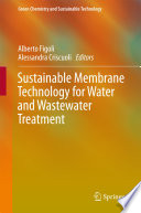 Book Cover: Sustainable Membrane Technology for Water and Wastewater Treatment