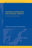 European Integration and National Identity