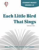 Each Little Bird That Sings Student Packet