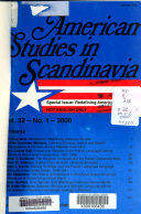American Studies in Scandinavia