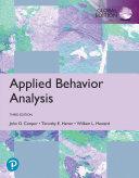 Applied Behavior Analysis  eBook  Global Edition