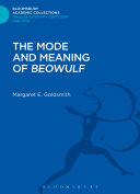 The Mode and Meaning of 'Beowulf'