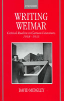 Writing Weimar