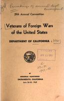 Proceedings of the Annual Encampment
