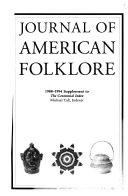 The Journal Of American Folk Lore