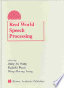 Real World Speech Processing Book PDF