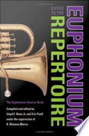 Guide to the Euphonium Repertoire