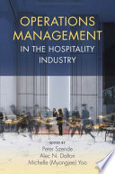 Operations Management in the Hospitality Industry Book