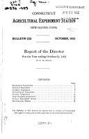 Fertilizer Report for 1921