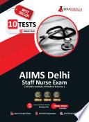 AIIMS Delhi Staff Nurse 2021 | 10 Mock Tests | Latest Practice Kit