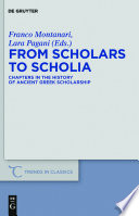 Read Online From Scholars to Scholia For Free