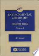 Environmental Chemistry of Herbicides  , Band 1