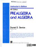 Prealgebra and algebra