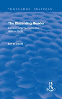 The Dissenting Reader Book