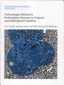 Technologies Related to Participatory Forestry in Tropical and Subtropical Countries