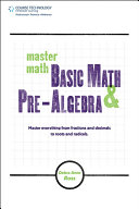 Master Math  Basic Math and Pre Algebra