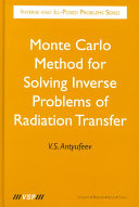 Monte Carlo Method for Solving Inverse Problems of Radiation Transfer