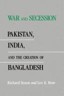 Pdf War and Secession