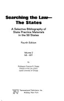 Searching The Law The States Mi Wy
