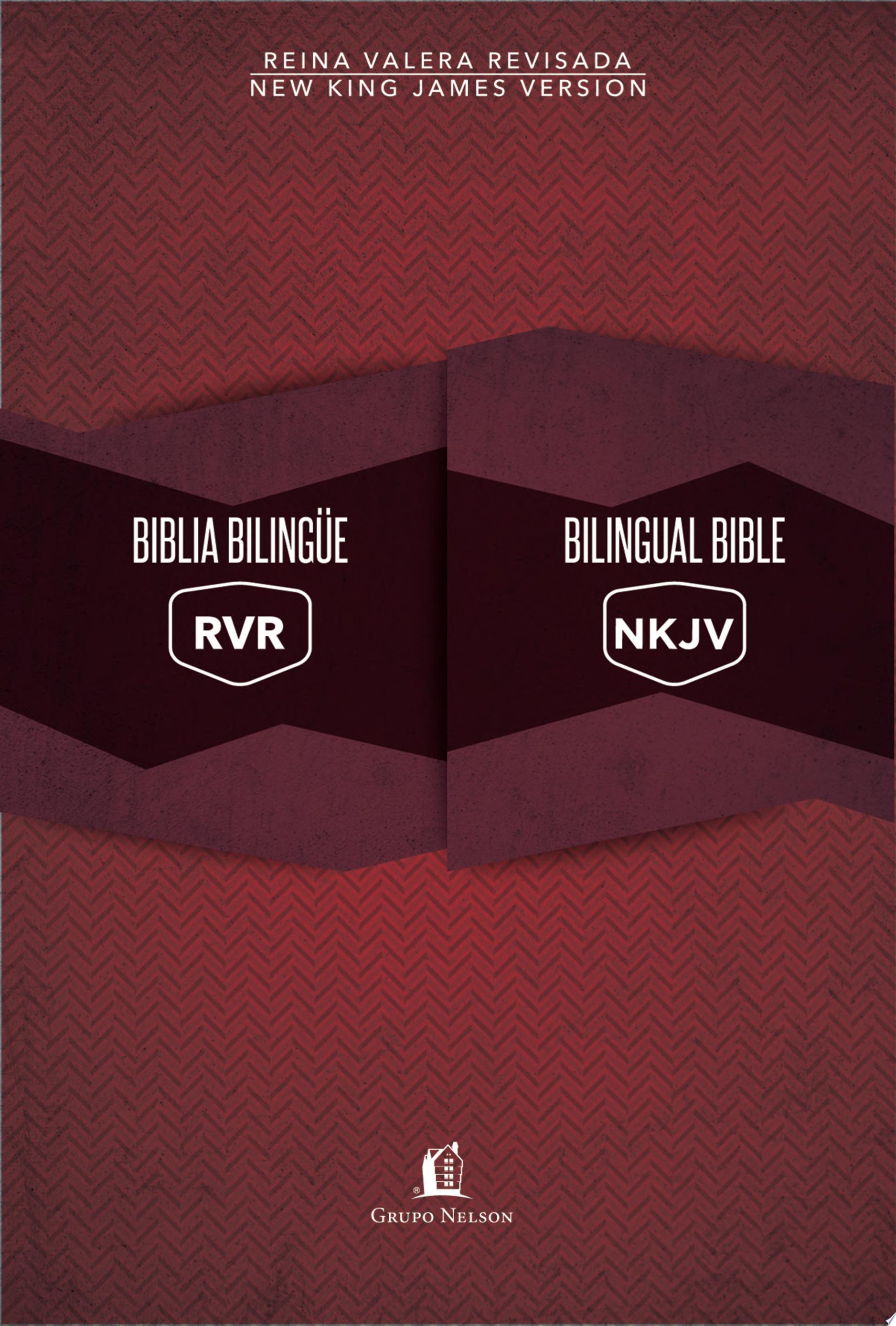 Biblia biling  e Reina Valera Revisada   New King James