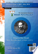 International Journal Of Indian Psychology Volume 6 Issue 2 No 1