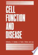 Cell Function And Disease Book PDF