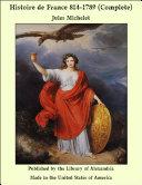 Pdf Histoire de France 814-1789 (Complete) Telecharger