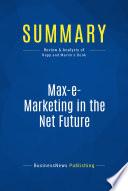 Summary Max E Marketing In The Net Future