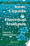 Ionic Liquids in Chemical Analysis