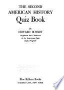 The Second American History Quiz Book