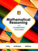 Mathematical Reasoning for Elementary Teachers   Mathematics Activities for Elementary Teachers   Mymathlab Book