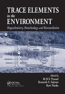 Trace Elements in the Environment Book