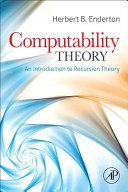 Computability Theory [Pdf/ePub] eBook