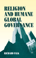 Religion and Humane Global Governance Pdf/ePub eBook