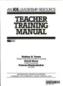Teacher Training Manual