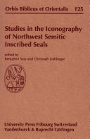 Studies in the Iconography of Northwest Semitic Inscribed Seals