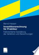 Investitionsrechnung für Praktiker