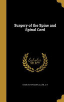 Surgery Of The Spine And Spinal Cord Book PDF