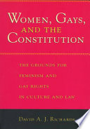 Women  Gays  and the Constitution