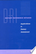 Dietary Reference Intakes Book