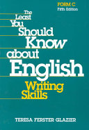 The Least You Should Know about English Book