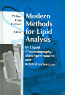 Modern Methods for Lipid Analysis by Liquid Chromatography