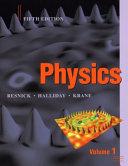Physics  Volume 1