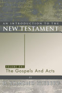 An Introduction to the New Testament, Volume 1