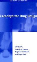 Carbohydrate Drug Design Book